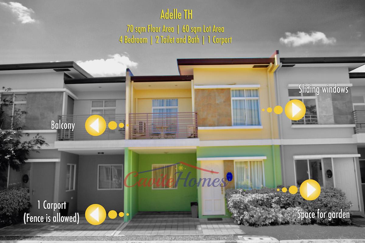 Adelle House Model Lancaster New City Cavite Cavite Homes